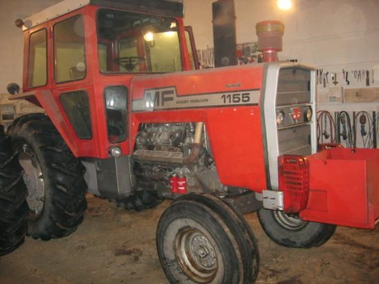 1977 Massey Ferguson 1155 Tractor For Sale at
